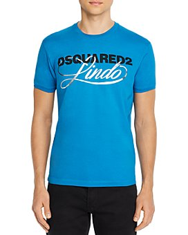DSQUARED2 - Very Very Dan Fit Graphic Logo Tee