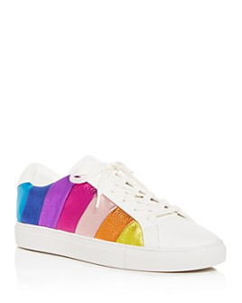 KURT GEIGER LONDON - Women's Lane Stripe Low-Top Sneakers