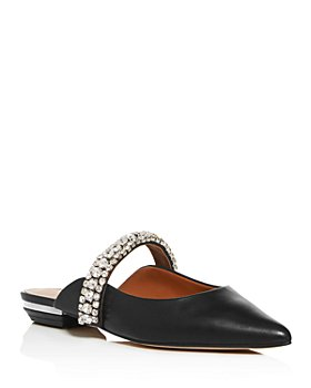 KURT GEIGER LONDON - Women's Princely Embellished Pointed Toe Mules