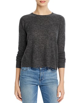 Theory - Cropped Wool Sweater