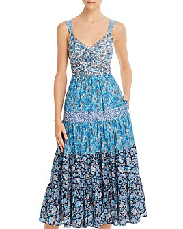 Rebecca Taylor - Print Mix Floral Dress