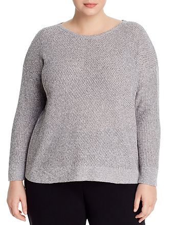 Eileen Fisher Plus - High/Low Sweater