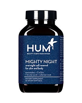 HUM Nutrition - Mighty Night Overnight Renewal Supplement