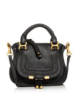 Chloé - Marcie Mini Leather Crossbody Satchel