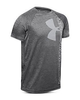 Under Armour - Boys' Tech™ Split Logo Tee - Big Kid