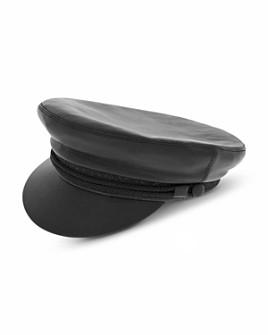 The Kooples - Leather Fisherman Cap