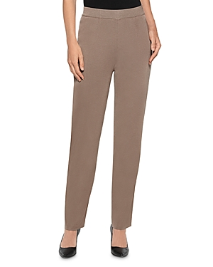 Misook Straight-Leg Knit Pants