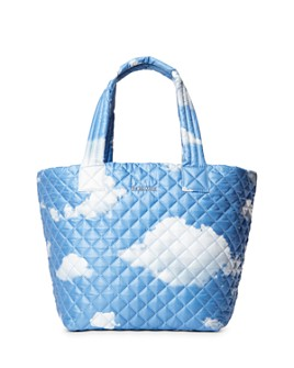 MZ WALLACE - Cloud-Print Medium Metro Tote
