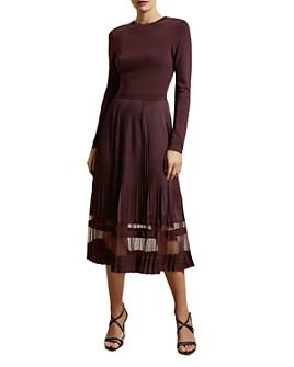 Ted Baker - Scarlah Pleated Midi Dress
