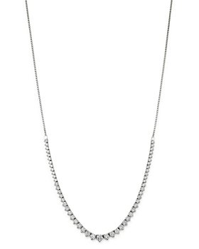 Bloomingdale's - Diamond Bolo Necklace in 14K White Gold, 4.5 ct. t.w. - 100% Exclusive