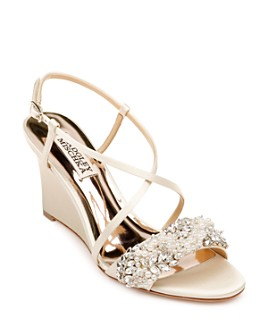 Badgley Mischka - Women's Clarisa Wedge Heel Sandals