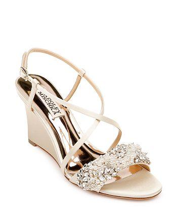 Badgley Mischka - Women's Clarisa Wedge Heel Sandals