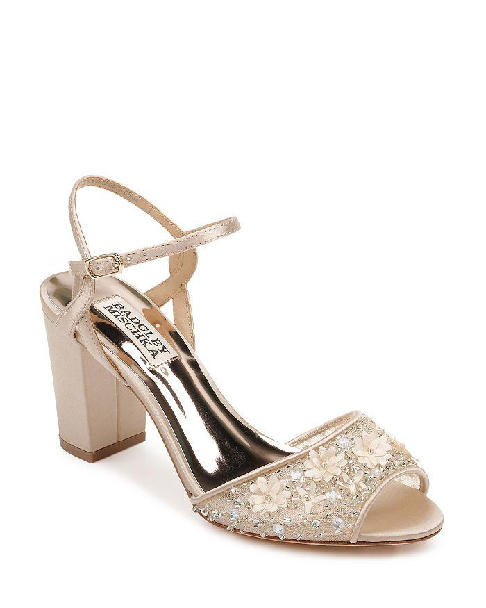 Badgley Mischka - Women's Carlie Block Heel Sandals
