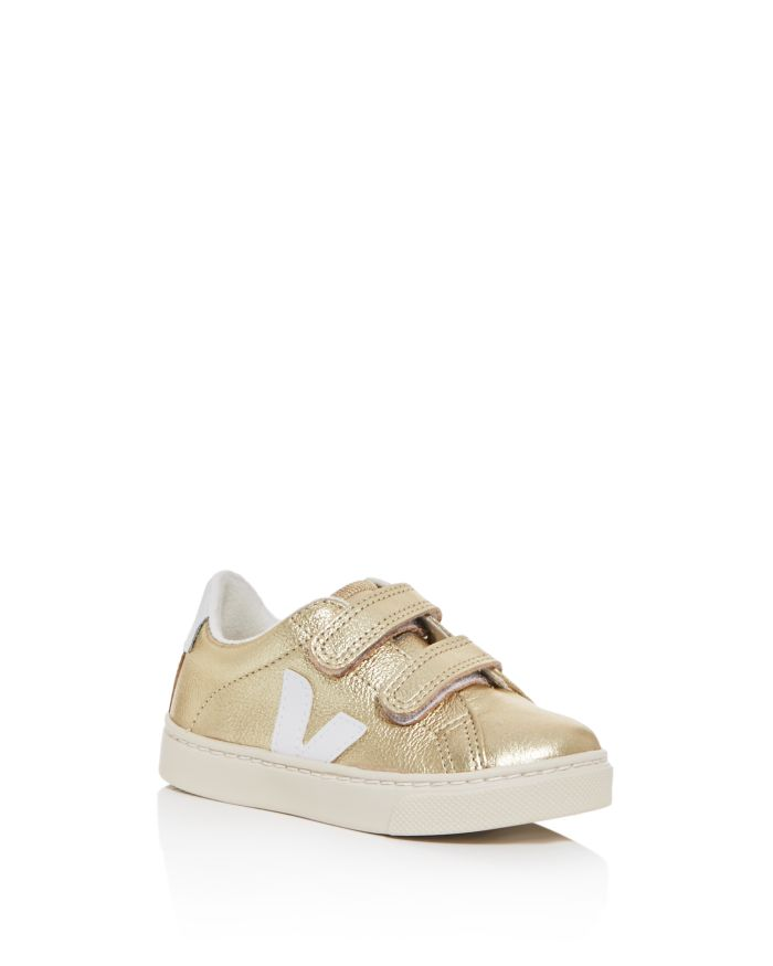 VEJA Unisex Esplar Leather Low-Top Sneaker - Walker, Toddler, Little Kid  | Bloomingdale's