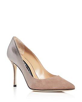 Sergio Rossi - Women's Godiva Pointed-Toe Pumps