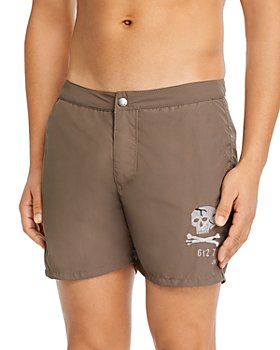John Varvatos Star USA - Skull Swim Trunks