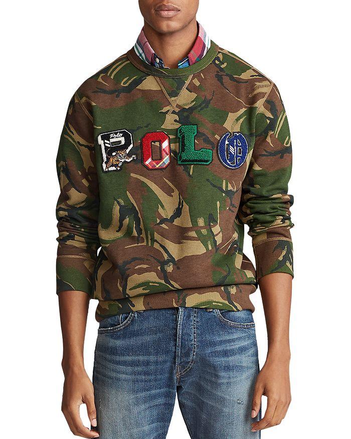 Polo Ralph Lauren - Polo Camo Fleece Sweatshirt