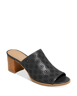 Jack Rogers - Women's Ronnie Perforated Block Heel Mules