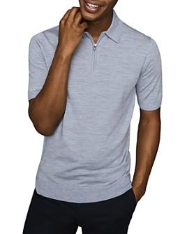 REISS - Maxwell Merino Polo Shirt