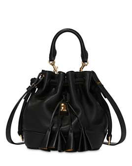 MARC JACOBS - Drawstring Leather Bucket Bag