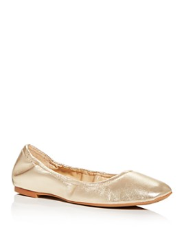VINCE CAMUTO - Women's Brindin Square-Toe Ballet Flats
