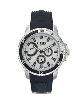 Versus Versace - Versus Aberdeen Silicone Strap Watch, 45mm