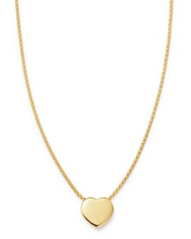 """Bloomingdale's - Heart Pendant Necklace in 14K Yellow Gold, 18"""" - 100% Exclusive"""