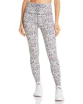 Varley - Marina High-Rise Snake Print Leggings - 100% Exclusive