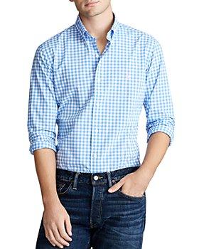 Polo Ralph Lauren - Slim Fit Gingham Button-Down Oxford Shirt
