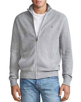Polo Ralph Lauren - Zip-Front Mockneck Sweater