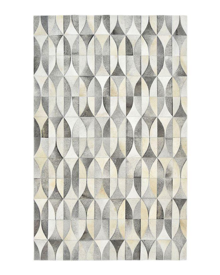 Timeless Rug Designs - Lana Cowhide S3074 Area Rug, 9' x 12'