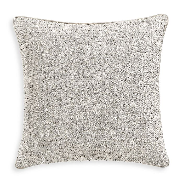 "Hudson Park Collection - Terrazzo Embroidered Decorative Pillow, 16"" x 16"" - 100% Exclusive"