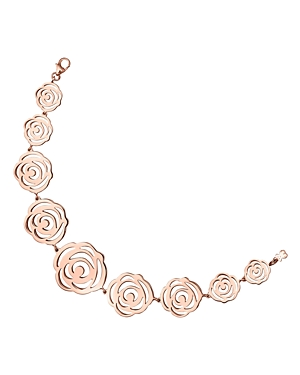 Tous 18K Rose Gold-Plated Sterling Silver Rosa de Abril Link Bracelet
