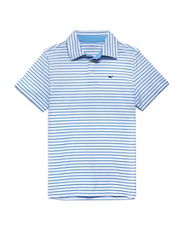Vineyard Vines - Boys' Sankaty Bogey Striped Polo Shirt - Little Kid, Big Kid