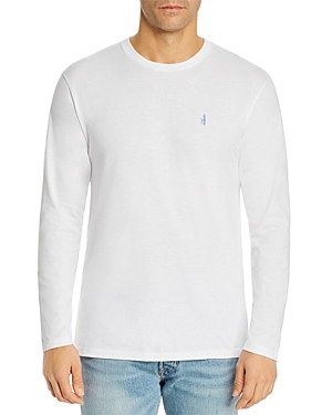 Johnnie-o Four Waves Graphic Logo Long-Sleeve Tee-Men