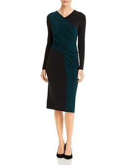 BOSS - Eretha Color Block Dress