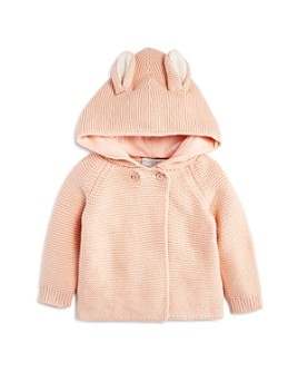 Stella McCartney - Girls' Hooded Bunny Sweater - Baby
