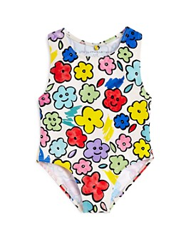 Stella McCartney - Girls' Smiling Flowers One-Piece Swimsuit - Baby