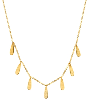 Argento Vivo Dangle Frontal Necklace in 18K Gold-Plated Sterling Silver, 16-18-Jewelry & Accessories