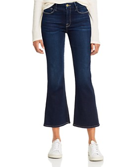 FRAME - Le Crop Mini Boot Jeans in Cabana