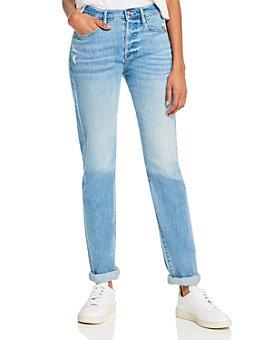 FRAME - Le Beau High-Rise Boyfriend Jeans in Walden Rock