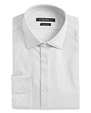 John Varvatos Star Usa Spencer Jersey Regular Fit Dress Shirt