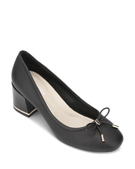 Kenneth Cole - Women's Bow Block Heel Pumps