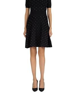 The Kooples - Studded A-Line Skirt