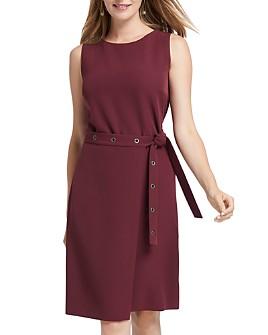 NIC and ZOE - Sleeveless Belted Dress