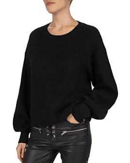 The Kooples - Wool & Cashmere Balloon-Sleeve Sweater