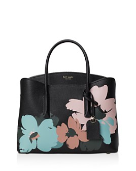 kate spade new york - Margaux Large Bloom Leather Satchel