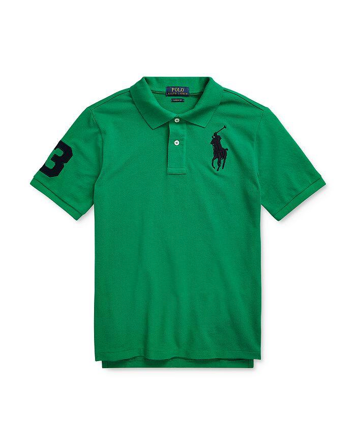 Ralph Lauren - Boys' Classic Fit Mesh Polo Shirt - Big Kid