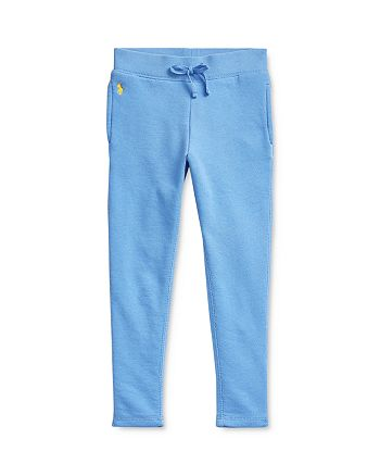Ralph Lauren - Girls' French Terry Leggings - Little Kid