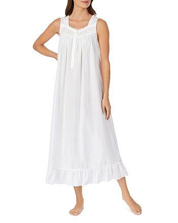 Eileen West - Striped Sleeveless Ballet Gown